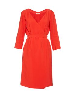 Nina Ricci | Mid-Weight Crepe Wrap Dress