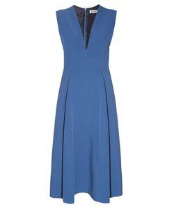 Jil Sander | Bocciolo V-Neck Midi Dress
