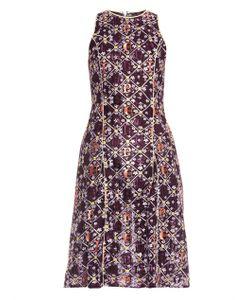 Mary Katrantzou | Iris Embroidered Tulle Dress