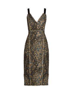 Erdem | Elissa Star-Jacquard Dress