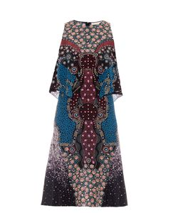 Mary Katrantzou | Spectra Cosmo-Print Silk Dress