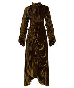 Preen By Thornton Bregazzi | Bradley Cut-Out Back Velvet Dress