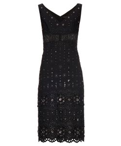 Marc Jacobs | Broderie-Anglaise Embellished Dress