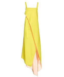 SIES MARJAN   Asymmetric-Fold Double-Crepe Dress