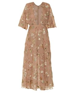 Valentino | Fil Coupé Midi Dress