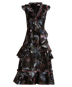 Erdem | Rochelle Bacall Night-Jacquard Dress