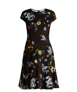 Erdem | Darlina Bacall Night Print A-Line Dress