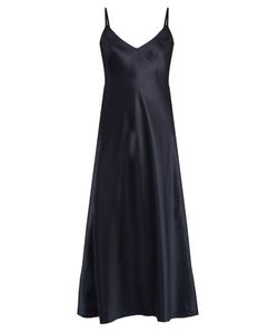 Helmut Lang | Ruffle-Back Silk-Satin Cami Dress