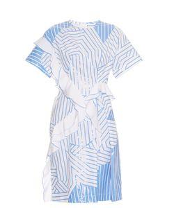 Jil Sander | Arabesque Striped Cotton Dress