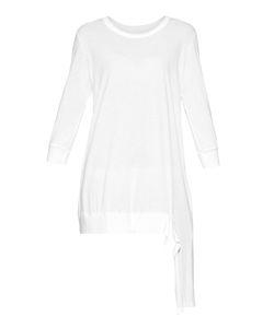 Y'S BY YOHJI YAMAMOTO   Contrast-Hem Jersey Dress