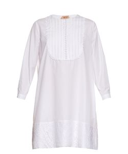No. 21 | Lace Trimmed Cotton-Poplin Dress