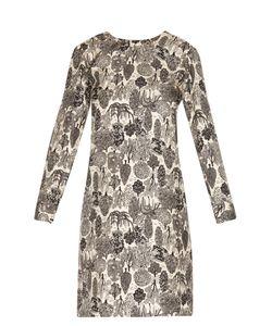 LA DOUBLEJ EDITIONS | Bosco Long-Sleeved Silk Mini Dress