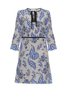Vanessa Bruno | Emod Ivy-Print Silk-Crepe Dress