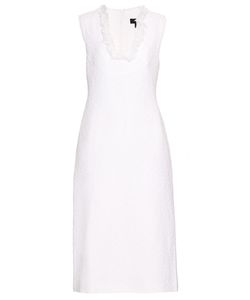 Ellery | Composer Bouclé-Front Crepe Dress