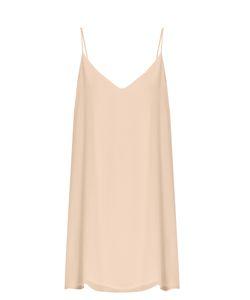 RAEY   Deep-V Silk Slip Dress