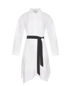Maison Rabih Kayrouz | Mandarin Collar Cotton-Poplin Dress