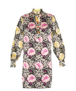Duro Olowu | Zanzibar Flower-Print Silk Dress