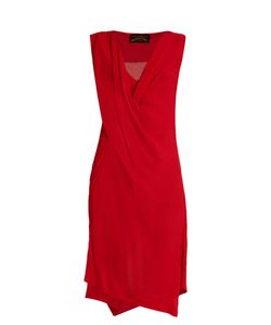 Vivienne Westwood Anglomania | Stitch Draped Crepon Dress