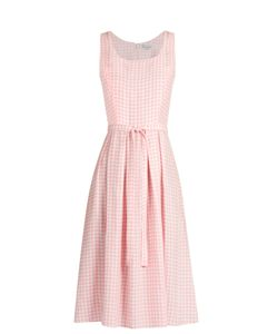 HVN | Jordan Gingham Sleeveless Dress