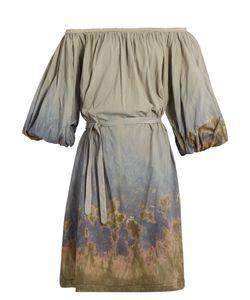 Rachel Comey | Solin Off-The-Shoulder Cotton-Voile Dress