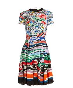 Mary Katrantzou | Bixbite Rainbow Cloud-Print Dress