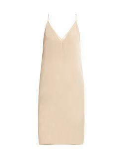 RAEY   V-Neck Silk Slip Dress