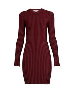 Elizabeth And James | Penny Long-Sleeved Ribbed-Knit Dress