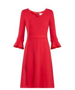 Goat | Chiara Wool-Crepe Dress