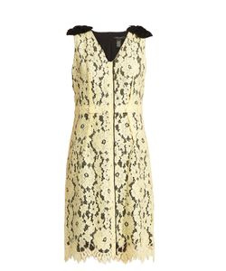 Marc Jacobs | Sleeveless Guipure-Lace And Silk Dress