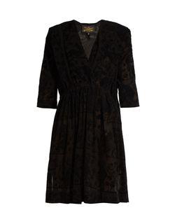 Vivienne Westwood Anglomania | Harima Tribal-Devoré Crepe Dress