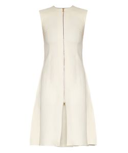 THOMAS TAIT | Zip-Front Crepe Dress