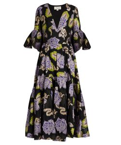 Temperley London | Tapestry Fil Coupé Georgette Gown