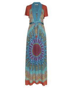 Etro | Tie-Waist Paisley-Print Silk-Georgette Gown