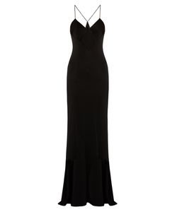 GALVAN | Diamond Cut-Out Crepe Gown