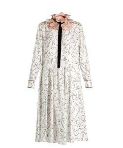 ROKSANDA | Belvoir Silk-Twill Midi Dress
