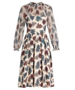 Luisa Beccaria | -Print Crepon Dress