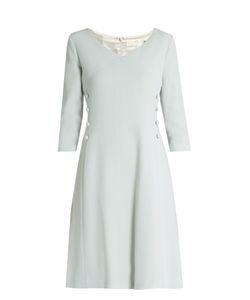 Goat | Darling V-Neck Wool-Crepe Dress