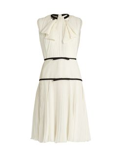 Giambattista Valli | Pleated Silk-Georgette Dress
