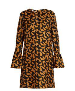 LA DOUBLEJ EDITIONS | The Uccellini-Print Happy Wrist Dress
