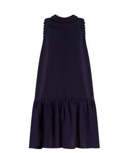 ROKSANDA | Casy Ruffled-Hem Cady Dress