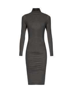 Velvet by Graham & Spencer | Lordes Ruched-Side High-Neck Dress