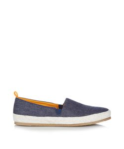 MULO | Washed-Denim Espadrilles