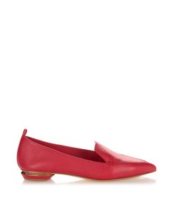 Nicholas Kirkwood | Beya Grained-Leather Loafers