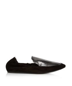 Lanvin | -Leather And Suede Loafers