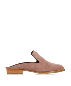 Robert Clergerie | Alice Suede Slip-On Loafers