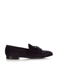 Burberry | Tassel Suede Loafers