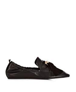 Lanvin | Pearl-Embellished Tassel Ballet Flats