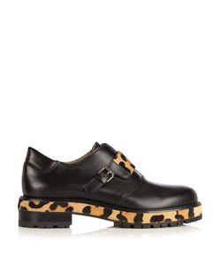 FRANCESCO RUSSO | Leather And Calf-Hair Loafers