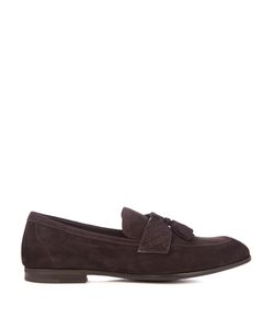 Bottega Veneta | Intrecciato Tasselled Suede Loafers