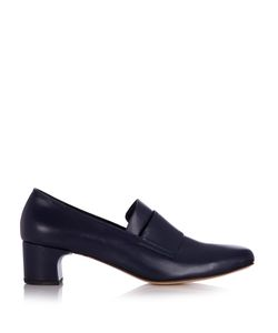 Maryam Nassir Zadeh | Melisa Mid-Heel Leather Loafers